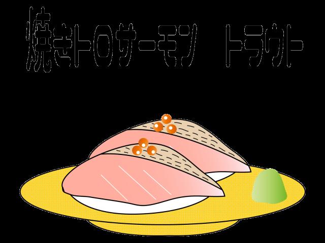 かわいい回転寿司…