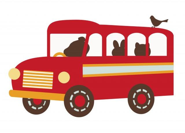 動物ボンネットバス 動物ボンネットバス | 無料イラスト素材|素材ラボ 無料イラスト素材:動物ボ
