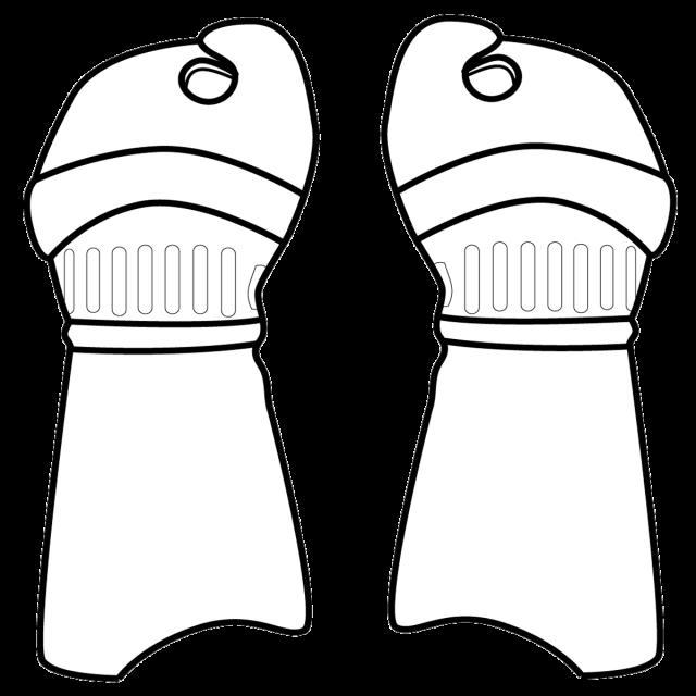 剣道の小手 表