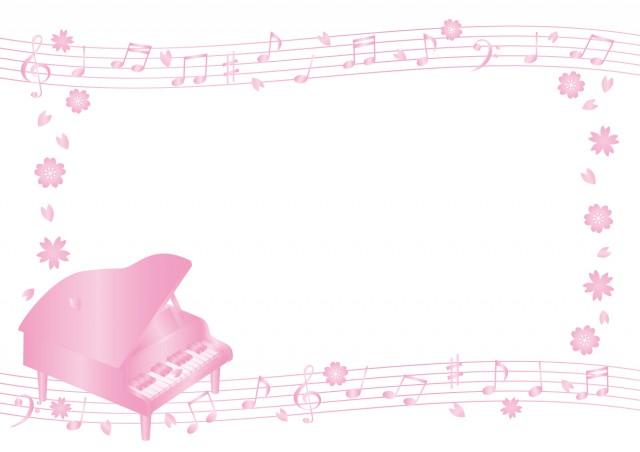 ピアノのフレーム…