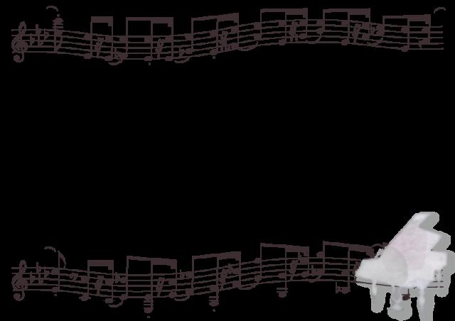 ピアノと楽器のフ…