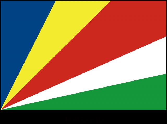 無料イラスト素材:セーシェル共和国の国旗(CSai・png…