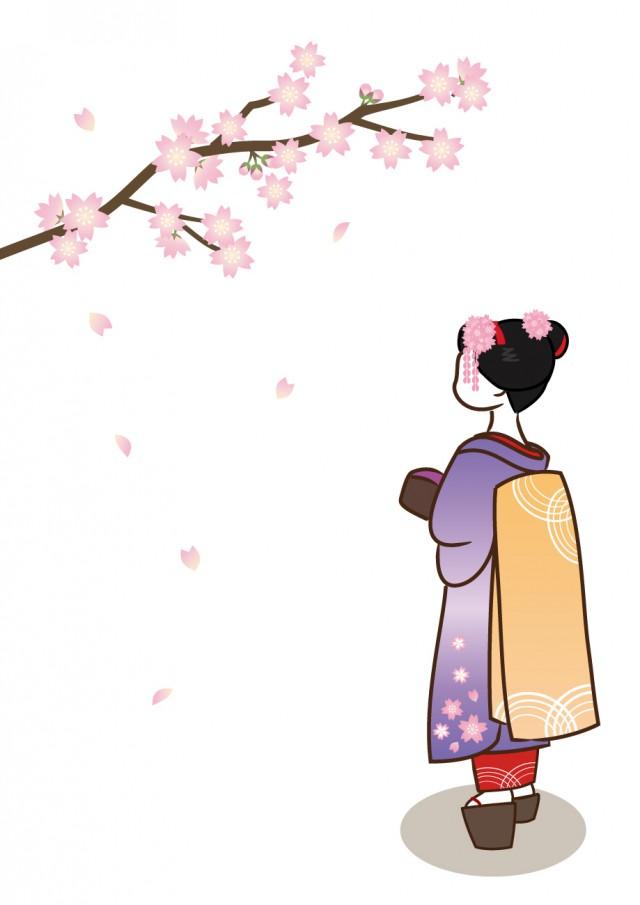 舞妓さんと桜