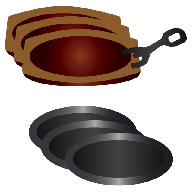 ステーキ皿セット…