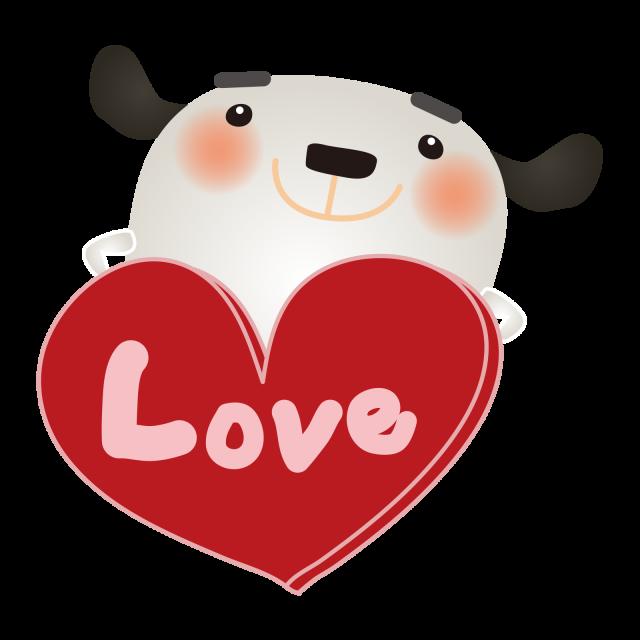 Loveのハート…