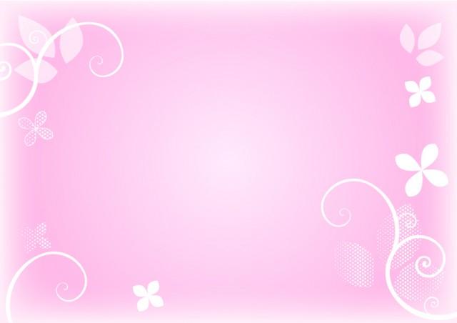 ピンクの背景 花