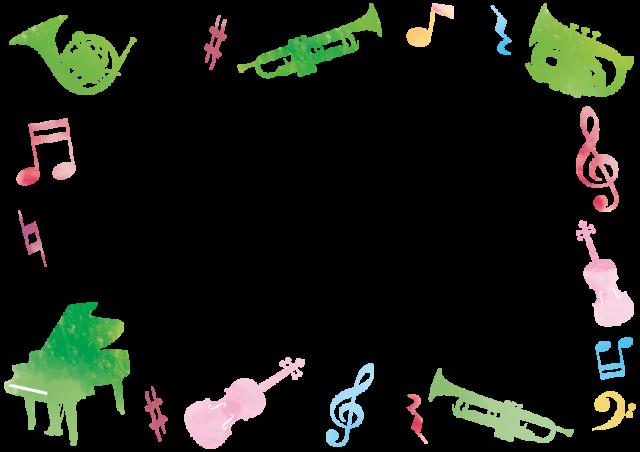 楽器のフレーム …