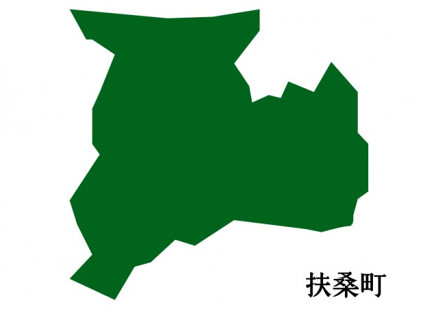 愛知県扶桑町(ふそうちょう)の地図(緑塗り) | 無料 ...