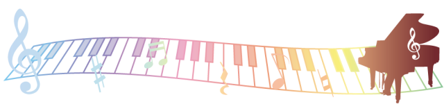 ピアノと鍵盤のラ…