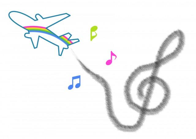 飛行機雲 無料イラスト素材素材ラボ