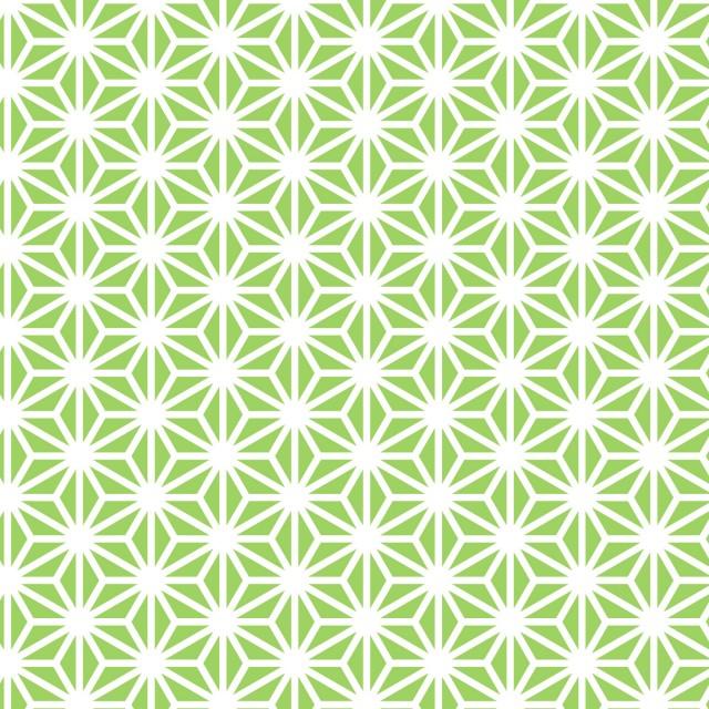 日本の伝統和柄 麻の葉 無料イラスト素材素材ラボ