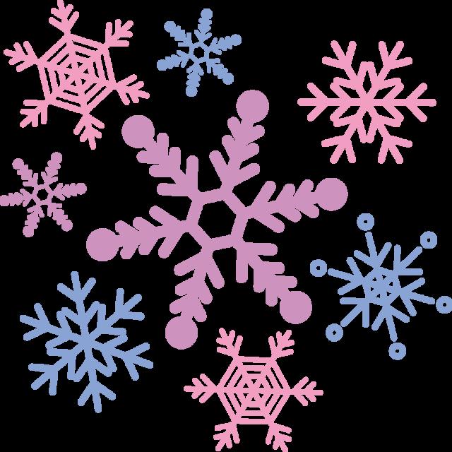 雪の結晶 無料イラスト素材素材ラボ