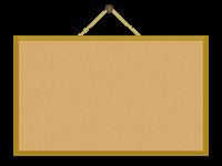 イラスト コルクボード