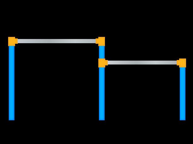 鉄棒 無料イラスト素材素材ラボ