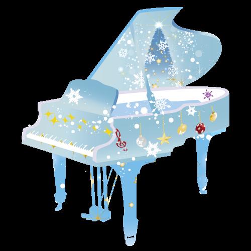 クリスマス ピアノイラスト 無料イラスト素材素材ラボ