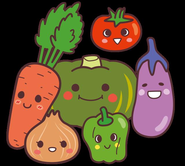 お野菜たち 無料イラスト素材素材ラボ