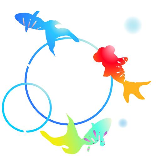 金魚のイラスト 無料イラスト素材素材ラボ