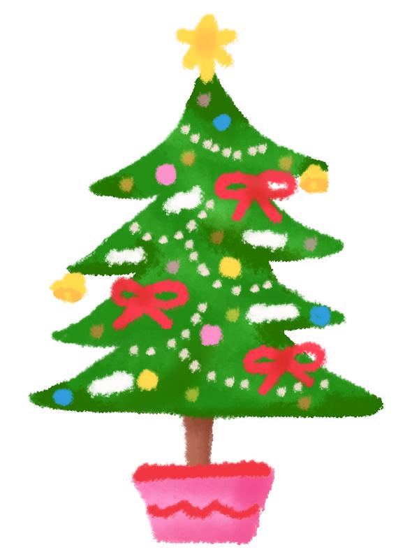 クリスマスツリー 無料イラスト素材素材ラボ
