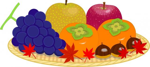 秋の味覚色々 無料イラスト素材素材ラボ