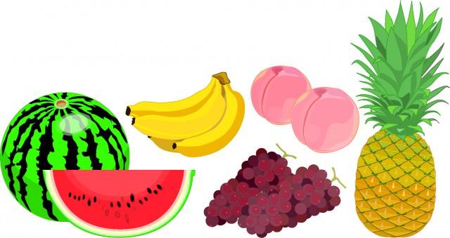 夏の果物 無料イラスト素材素材ラボ