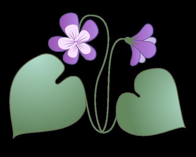 スミレの花 無料イラスト素材素材ラボ