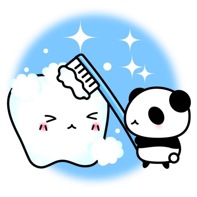 かわいい 歯磨き イラスト