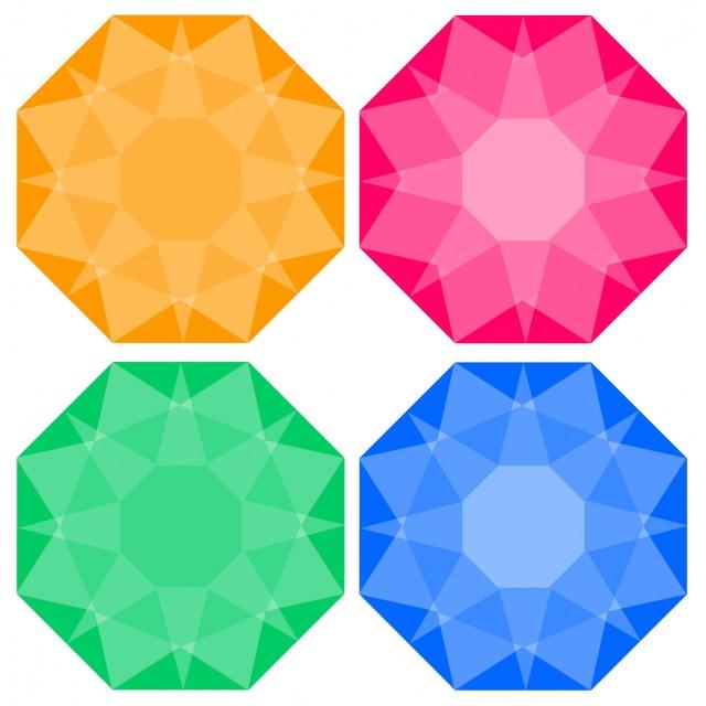 宝石イラストアイコンセット 無料イラスト素材素材ラボ