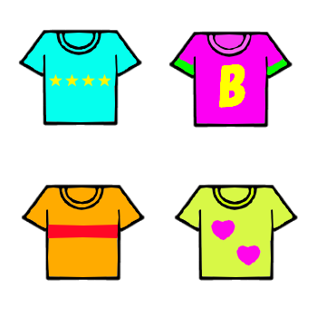 Tシャツアイコン 無料イラスト素材素材ラボ