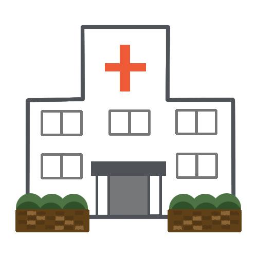 シンプルな病院