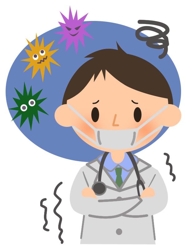 ウイルスとお医者…