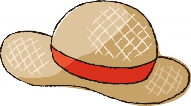 麦わら帽子 無料イラスト素材素材ラボ