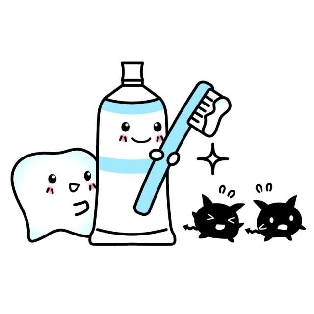 歯を守る歯磨きキャラクター素材 無料イラスト素材素材ラボ