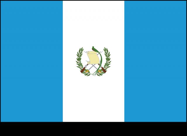 無料イラスト素材:グアテマラ共和国の国旗(CSai・png…