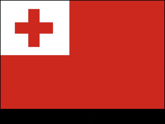 トンガ王国の国旗csaipng 無料イラスト素材素材ラボ