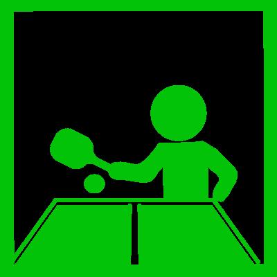 卓球アイコン 無料イラスト素材素材ラボ