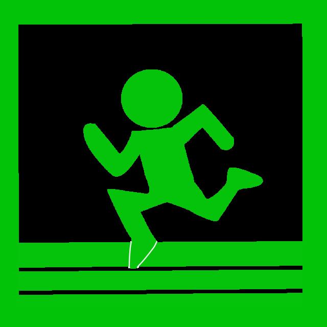 マラソンアイコン 無料イラスト素材素材ラボ