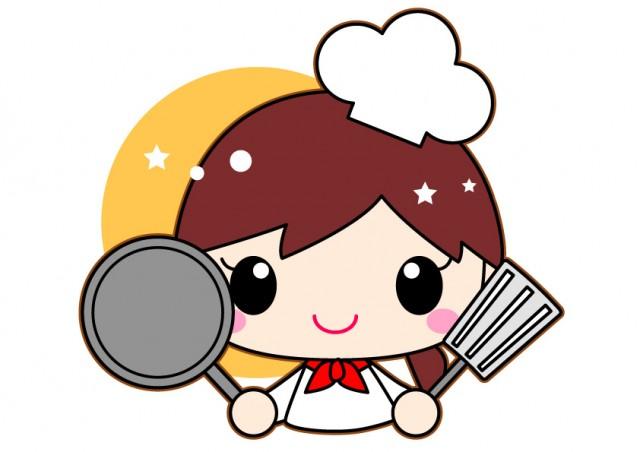 料理人コックシェフの女の子イラスト 無料イラスト素材素材ラボ