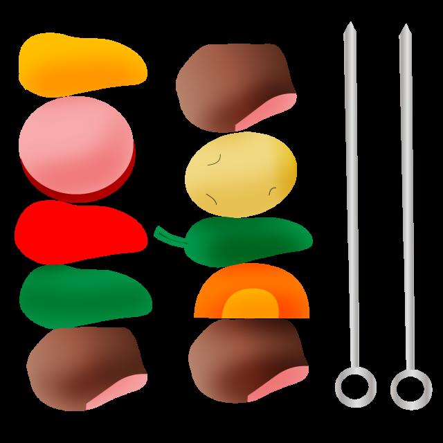 肉料理 バーベキュー 無料イラスト素材素材ラボ