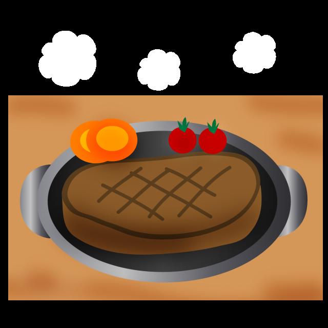 肉料理 ステーキ 無料イラスト素材 素材ラボ