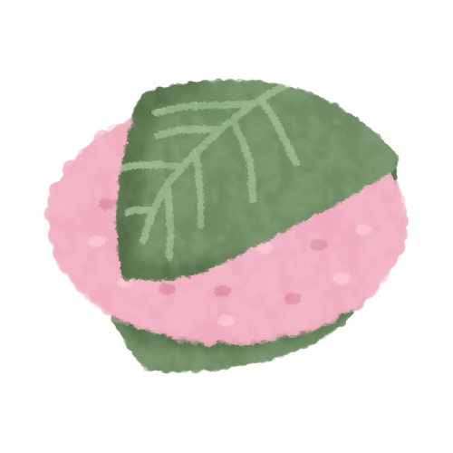 ピンクが可愛い桜…