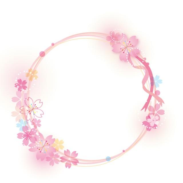 春色 桜のリース…