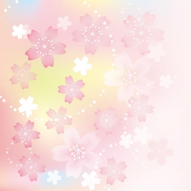 春色 桜の背景イラスト 無料イラスト素材素材ラボ