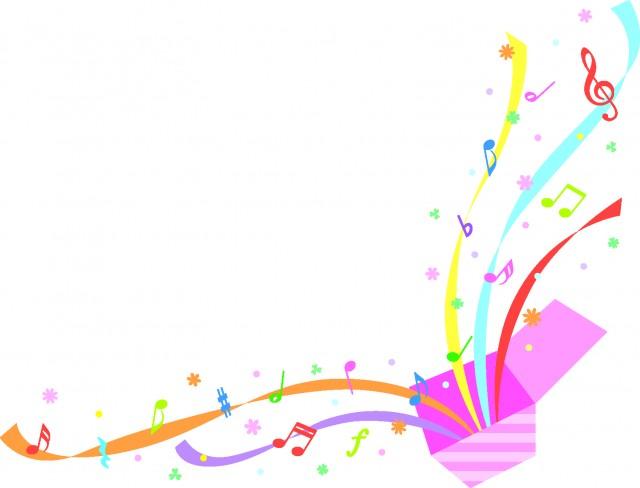 音楽のびっくり箱 無料イラスト素材素材ラボ