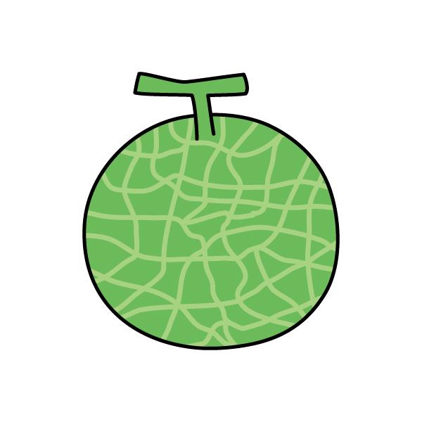 イラスト 036 果物メロン Jpgpinggif 無料イラスト素材