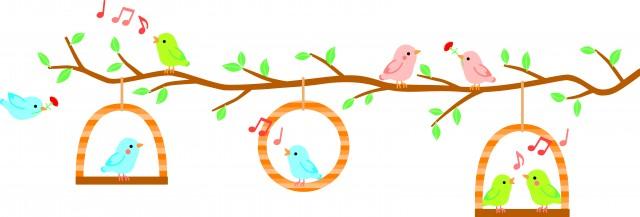 母の日にも小鳥達…