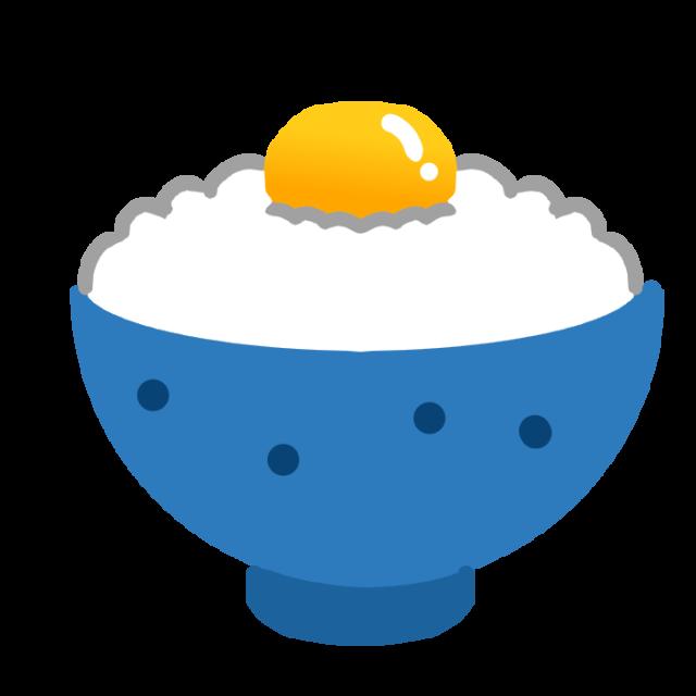 卵かけごはんのイラスト 無料イラスト素材素材ラボ