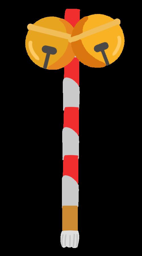 神社の鈴のイラスト 無料イラスト素材素材ラボ