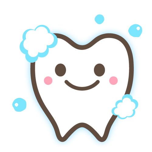 かわいい歯のイラストカット 無料イラスト素材素材ラボ