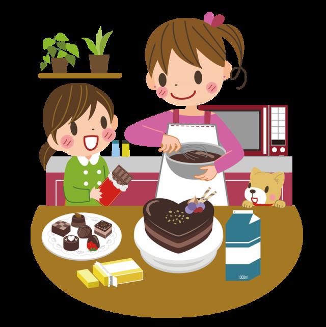 お菓子作り 無料イラスト素材 素材ラボ