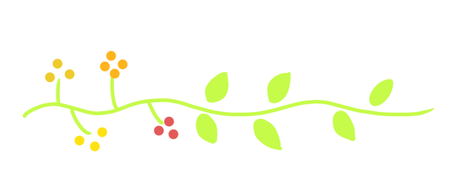 葉っぱと植物ラインのイラスト 無料イラスト素材素材ラボ